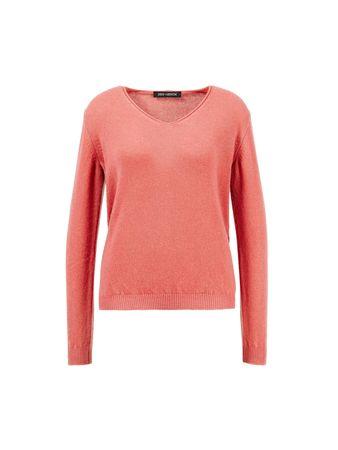 Iris von Arnim  - Cashmere-Shirt 'Adyna' Koralle rot