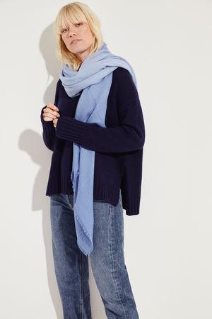 Iris von Arnim  - Cashmere-Tuch 'Heidi' Blau 100% Cashmere grau