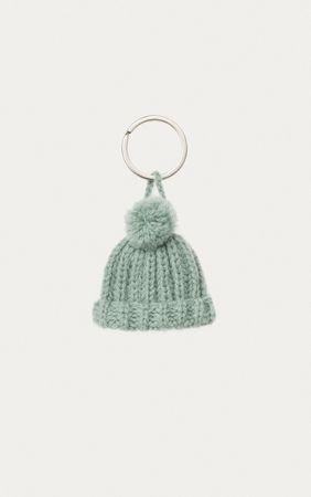 Iris von Arnim Schlüsselanhänger Mütze grau