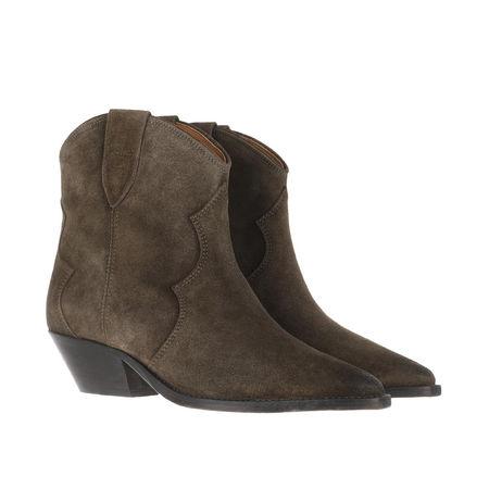 Isabel Marant  Boots  -  Dewina Boots Dark Brown  - in grün  -  Boots für Damen grau