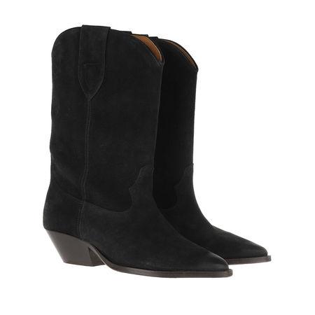 Isabel Marant  Boots  -  Duerto Boots Faded Black  - in schwarz  -  Boots für Damen schwarz