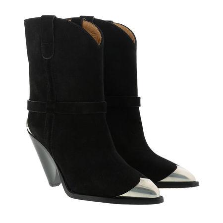 Isabel Marant  Boots  -  Iconic Ankle Boots Leather Black  - in schwarz  -  Boots für Damen schwarz