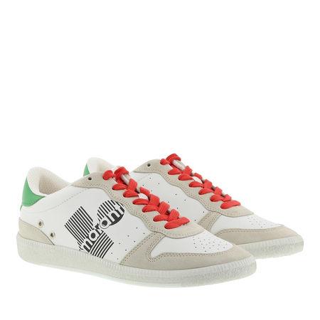 Isabel Marant  Sneakers  -  Bulian Sneakers Green  - in weiß  -  Sneakers für Damen