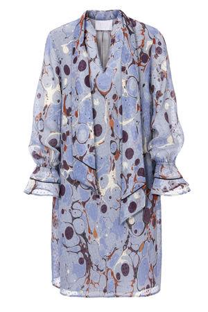 IVI collection LIQUID Kleid blue grau