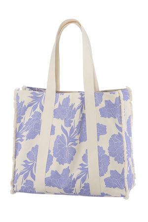 IVI collection PEONY Beach Bag braun