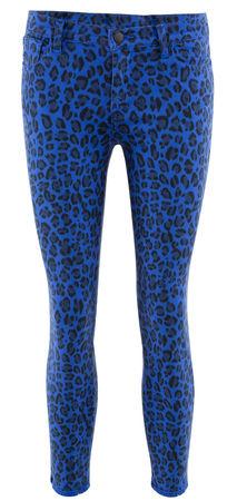 J Brand  - Jeans Mid Rise Skinny aus Baumwolle blau