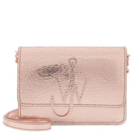 J.W.Anderson  Umhängetasche  -  Logo Bag Copper  - in rosa  -  Umhängetasche für Damen braun