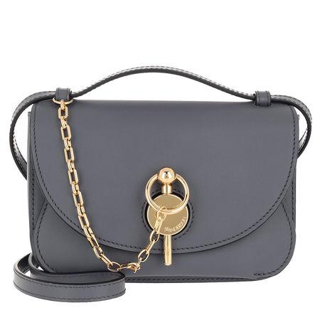 J.W.Anderson  Umhängetasche  -  Midi Keyts Bag Dark Steel  - in grau  -  Umhängetasche für Damen grau