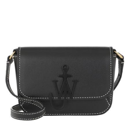 J.W.Anderson  Umhängetasche  -  Nano Anchor Bag Black  - in schwarz  -  Umhängetasche für Damen grau