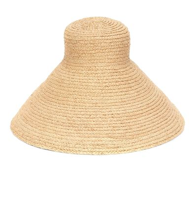 Jacquemus Hut Le Chapeau Valensole orange
