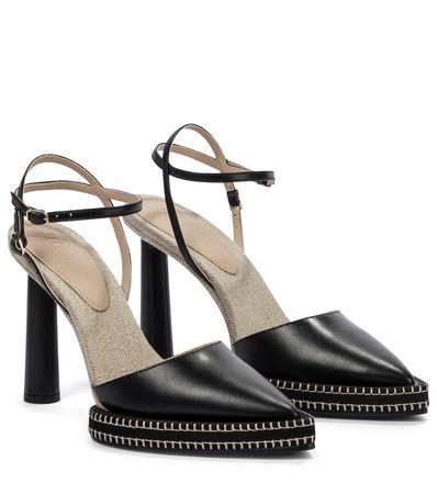 Jacquemus Pumps Les Chaussures Novio schwarz