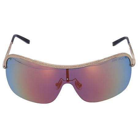 Jimmy Choo  Sonnenbrille Shield MARISI 010HD  Metall gold braun