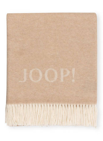 Joop ! Plaid Signature weiss