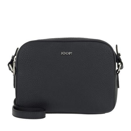 Joop ! Tasche  -  Nature Grain Cloe Shoulderbag Dark Blue  - in blau  -  Tasche für Damen grau
