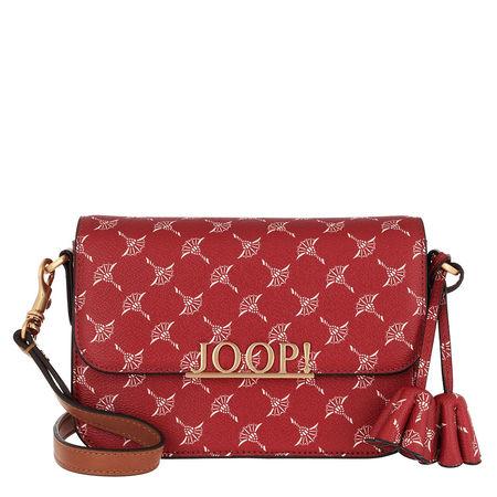 Joop ! Umhängetasche  -  Cortina Uma Shoulderbag Red  - in rot  -  Umhängetasche für Damen rot