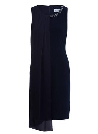 Joseph Ribkoff  Cocktailkleid blau schwarz