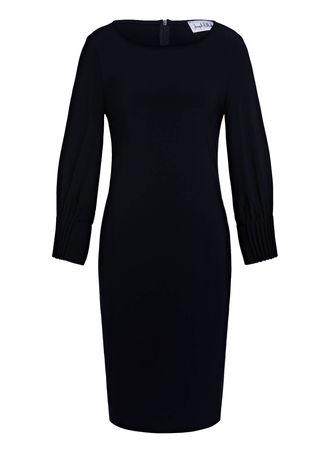 Joseph Ribkoff  Kleid blau schwarz