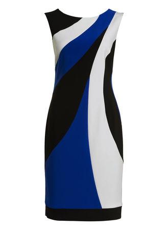 Joseph Ribkoff  Kleid schwarz blau