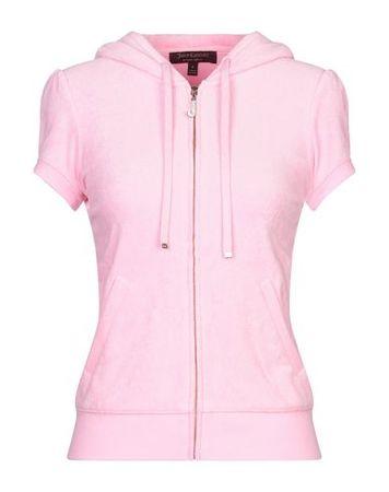 Juicy Couture  Damen Rosa Sweatshirt Baumwolle, Modal rosa