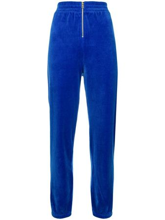 Juicy Couture  Jogginghose in Samtoptik - Blau blau