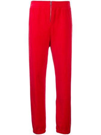Juicy Couture  Jogginghose mit Swarovski-Kristallen - Schwarz rot
