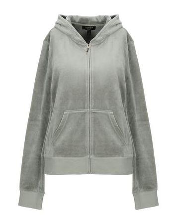 Juicy Couture  L Damen Militärgrün Sweatshirt Baumwolle, Polyester grau