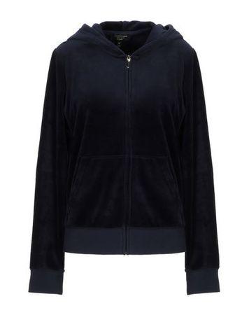 Juicy Couture  M Damen Dunkelblau Sweatshirt Baumwolle, Polyester schwarz