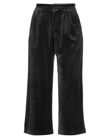 Juicy Couture  M Damen Schwarz Hose Baumwolle, Modal, Polyester schwarz