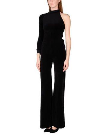 Juicy Couture  XS Damen Schwarz Freizeitanzug Baumwolle, Polyester schwarz