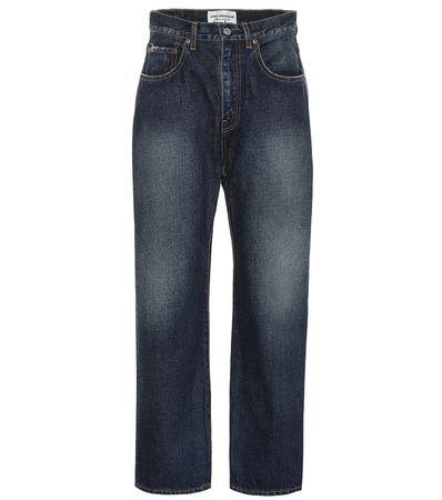 Junya Watanabe Jeans mit weitem Bein grau
