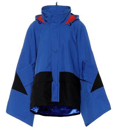 Junya Watanabe Oversize-Jacke blau