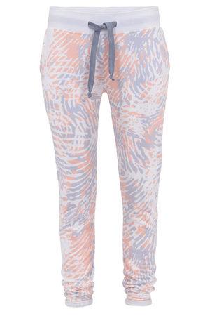 "Juvia  Slim-Fit Sweatpants in ""fingerprint"" von , weiß Damen"