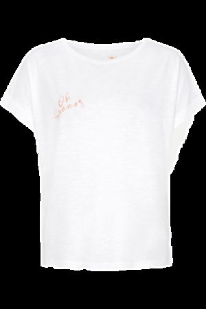"""Juvia  T-Shirt """"oh summer"""", weiß Damen"""
