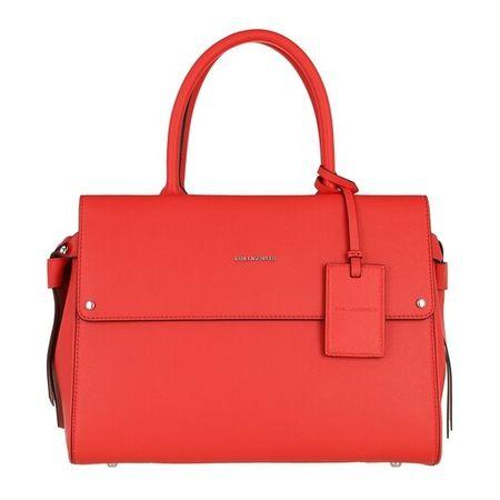 Karl Lagerfeld  Bowling Bag - Ikon Medium Top Handle - in orange - für Damen