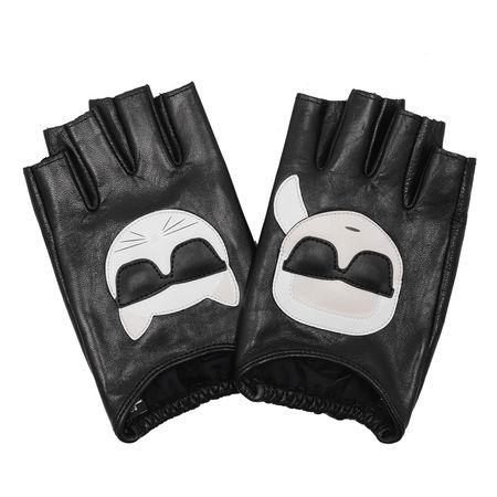Karl Lagerfeld  Handschuhe - Karl Ikonik Glove - in schwarz - für Damen grau