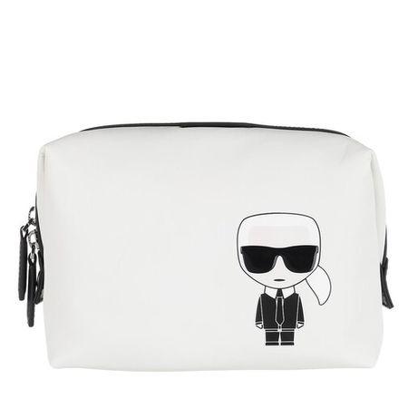 Karl Lagerfeld  Kosmetiktaschen - Ikonik Nylon Washbag - in weiß - für Damen