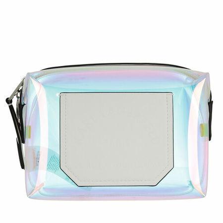 Karl Lagerfeld  Kosmetiktaschen - Journey Hologram Washbag - in silber - für Damen