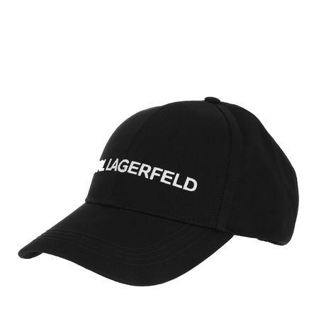 Karl Lagerfeld  Mützen - Karl Essential Logo Cap - in schwarz - für Damen schwarz