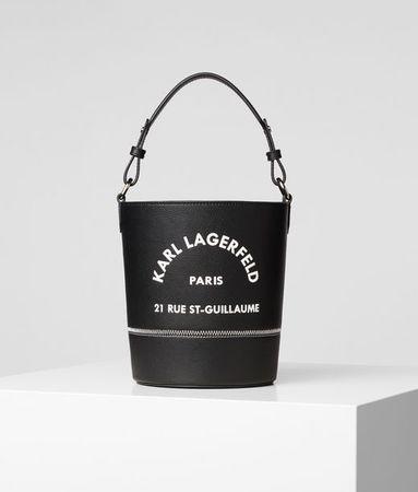 Karl Lagerfeld Rue St Guillaume Bucket Bag grau