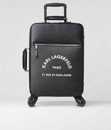 Karl Lagerfeld Rue St-Guillaume Spinner-Trolley grau
