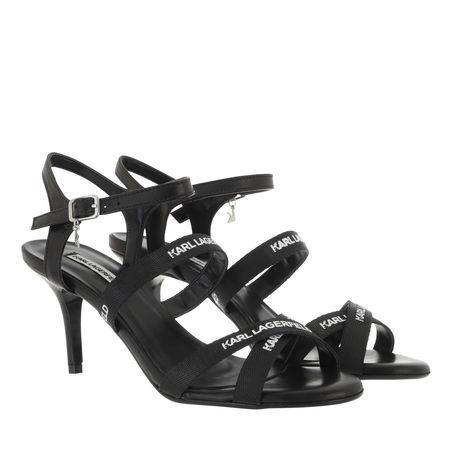 Karl Lagerfeld  Sandalen & Sandaletten - Sarabande Karl Strap Sandal - in black - für Damen schwarz