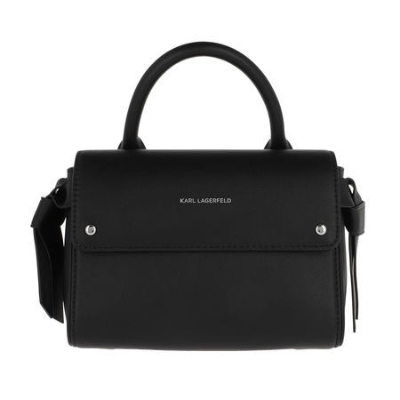 Karl Lagerfeld  Satchel Bag - Ikonic Mini Top Handle Bag - in schwarz - für Damen schwarz