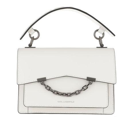 Karl Lagerfeld  Satchel Bag  -  Karl Karl Seven Shoulderbag White  - in weiß  -  Satchel Bag für Damen grau