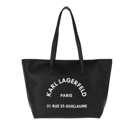 Karl Lagerfeld  Shopper - Rue Tote - in schwarz - für Damen schwarz