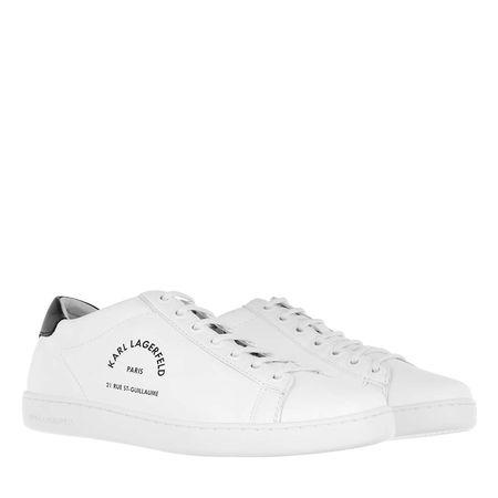 Karl Lagerfeld  Sneakers  -  Kupsole Maison Lace White  - in weiß  -  Sneakers für Damen grau