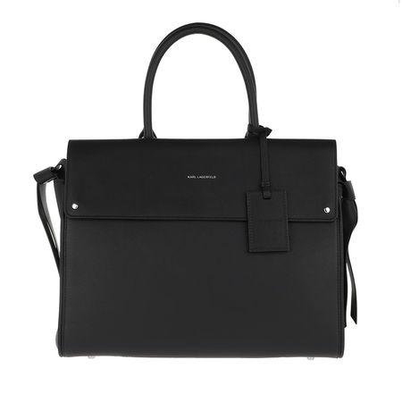 Karl Lagerfeld  Tote  -  Ikon Top Handle Black  - in schwarz  -  Tote für Damen schwarz