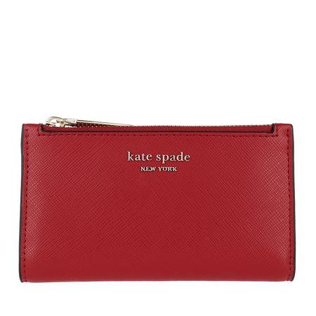 Kate Spade  New York Portemonnaie  -  Spencer Small Slim Bifold Wallet Hot Chili  - in rot  -  Portemonnaie für Damen rot