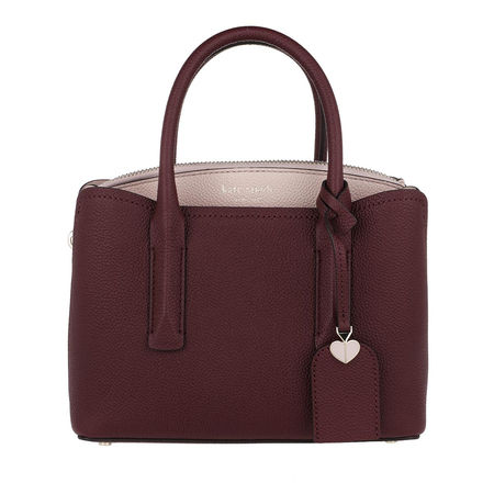 Kate Spade  New York Satchel Bag  -  Mini Satchel Bag Tamarillo  - in rot  -  Satchel Bag für Damen braun