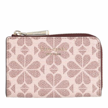 Kate Spade  New York Schlüsselanhänger - Spade Flower Coated Canvas Key Pouch - in pink - für Damen