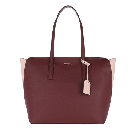 Kate Spade  New York Tote  -  Margaux Large Tote Cherrywood Multi  - in rot  -  Tote für Damen braun